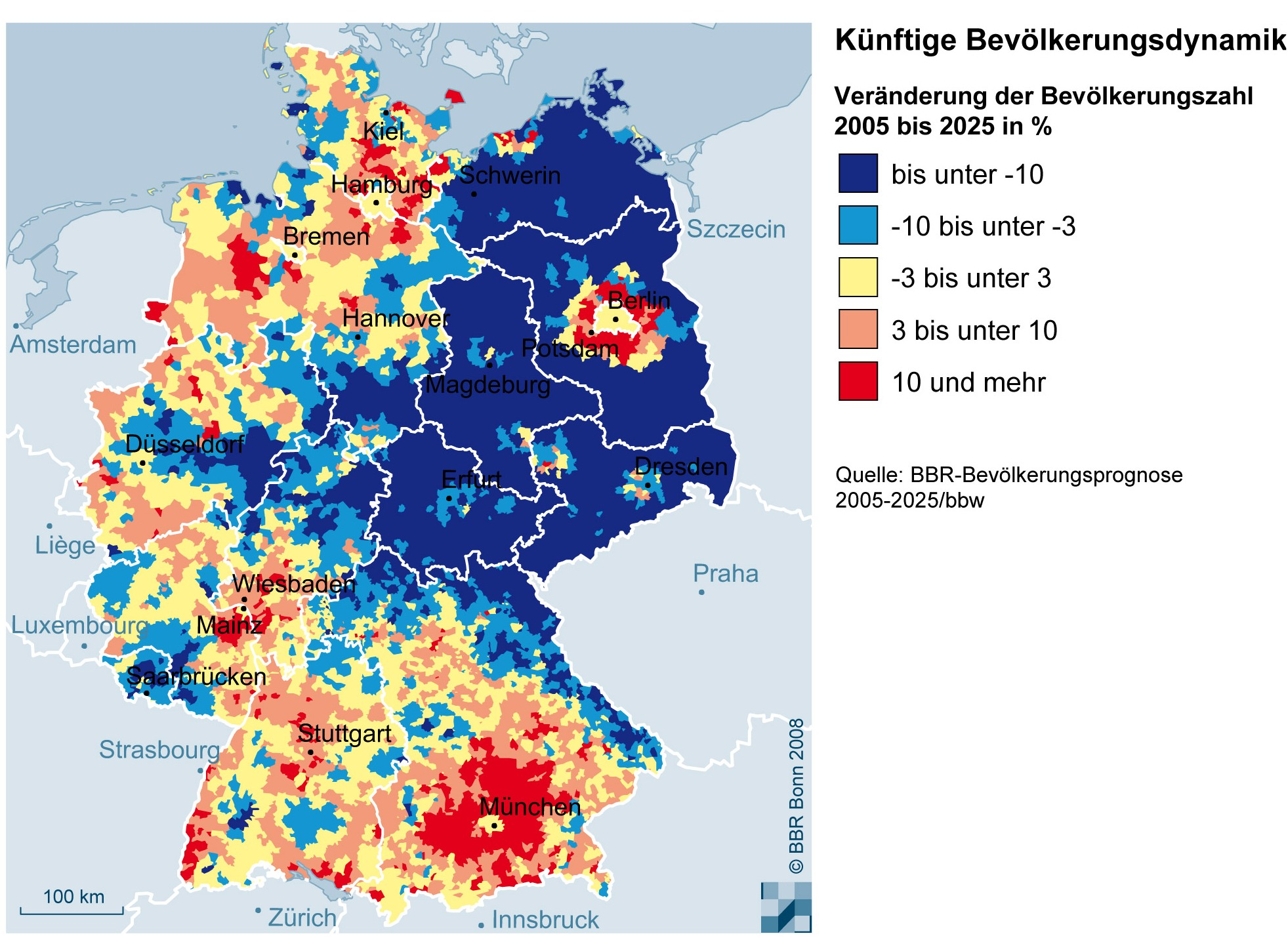 BBSR Homepage - Informationen zur Raumentwicklung - Die ... - Deutschland 1939 Karte