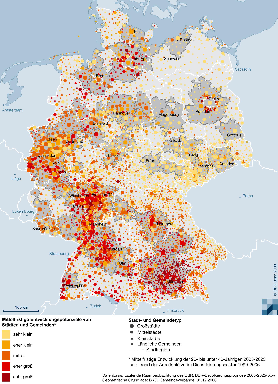 Bbsr Homepage Informationen Zur Raumentwicklung Nationale