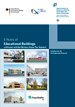 Cover: 5 Years of Educational Buildings conformant with the Efficiency House Plus Standard