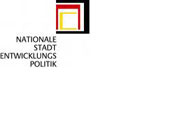 "Logo: ""National Urban Development Policy"" with link to the website"